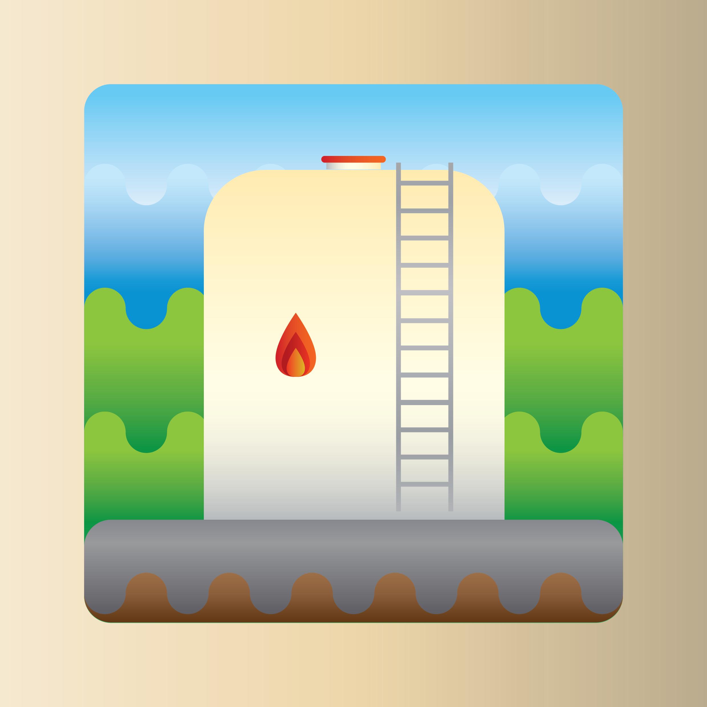 olietanke i haven